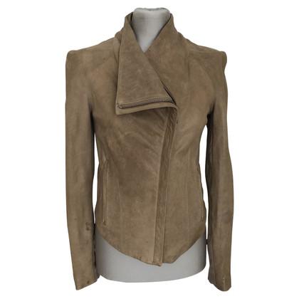 Helmut Lang veste de cuir
