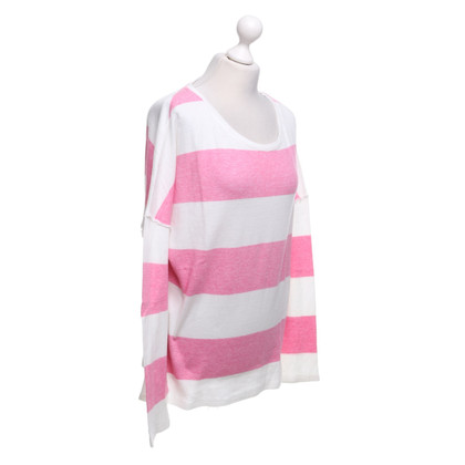 Juvia top with stripe pattern