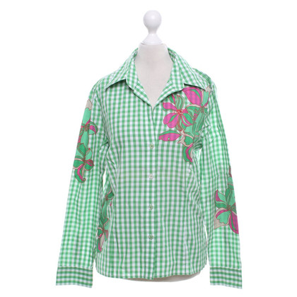 Escada Shirt blouse with vichy print pattern
