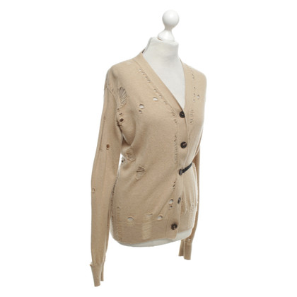 Maison Martin Margiela Cardigan in light brown