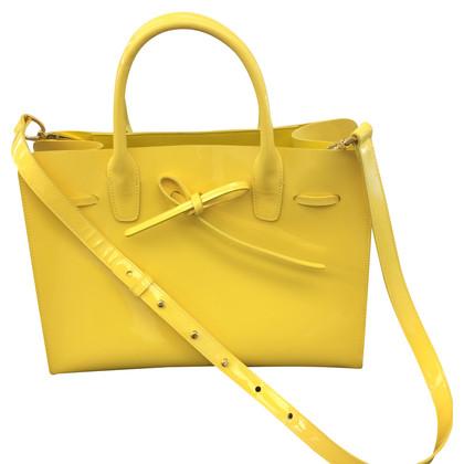 Mansur Gavriel Handtasche in Gelb