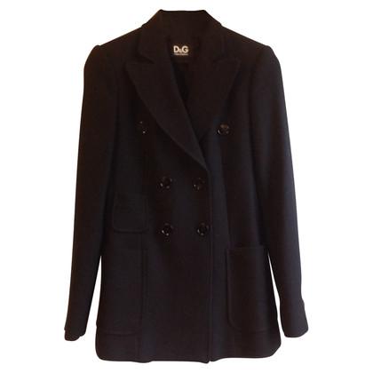 D&G Zwarte korte jas