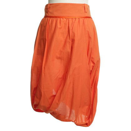 Wunderkind skirt in Orange