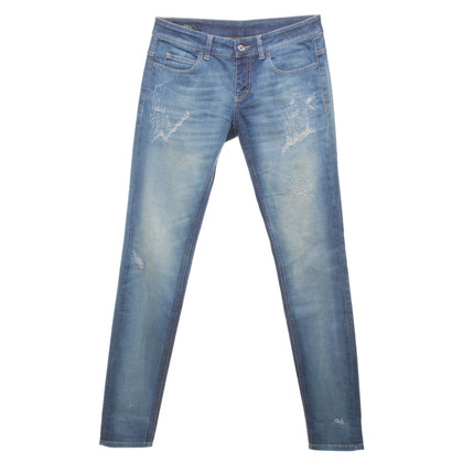 Gucci Jeans im Used-Look