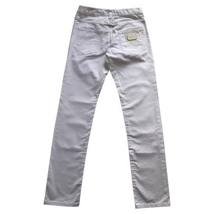 Jean Paul Gaultier White Jean's Paul Gaultier jeans.