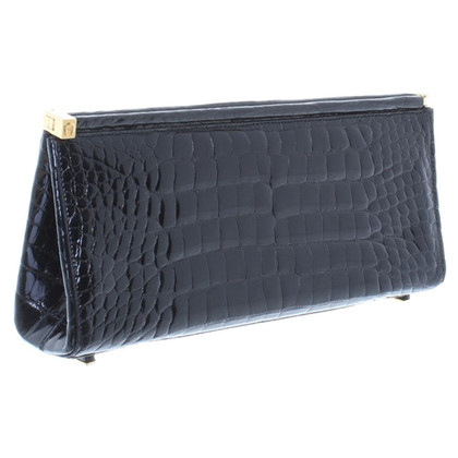 Aigner clutch in black