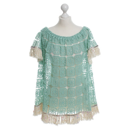 Other Designer Nizhoni mint green top