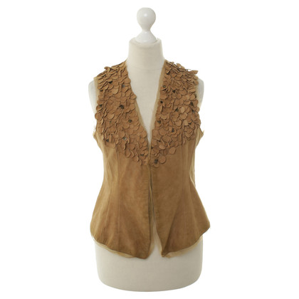 Other Designer Suede vest in light brown