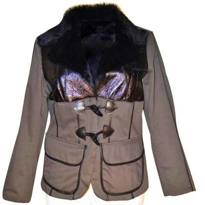 John Galliano veste en fourrure neuf avec étiquette