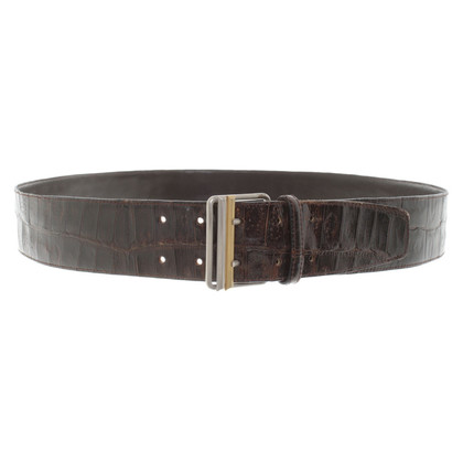 Gianni Versace Belt in dark brown