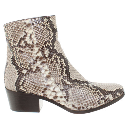Jimmy Choo Ankle boots made of python leather