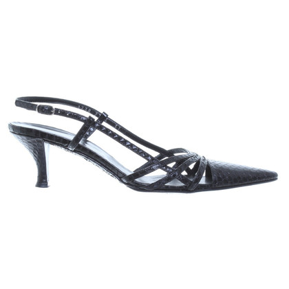 Dolce & Gabbana Reptile leather pumps