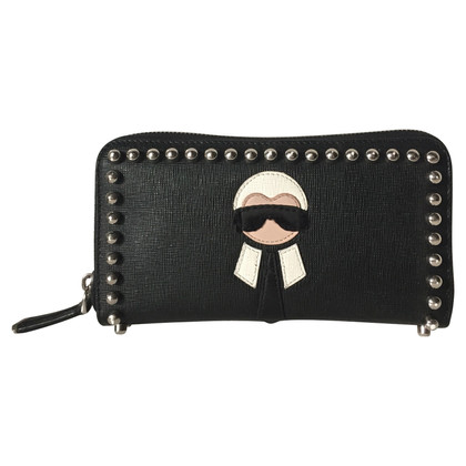 Fendi Karlito Zip wallet
