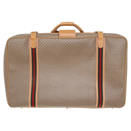 Gucci Suitcase with Guccissima pattern