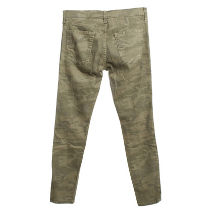 Current Elliott Jeans met camouflagepatroon