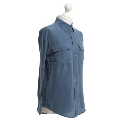Equipment Bluse in Hellblau