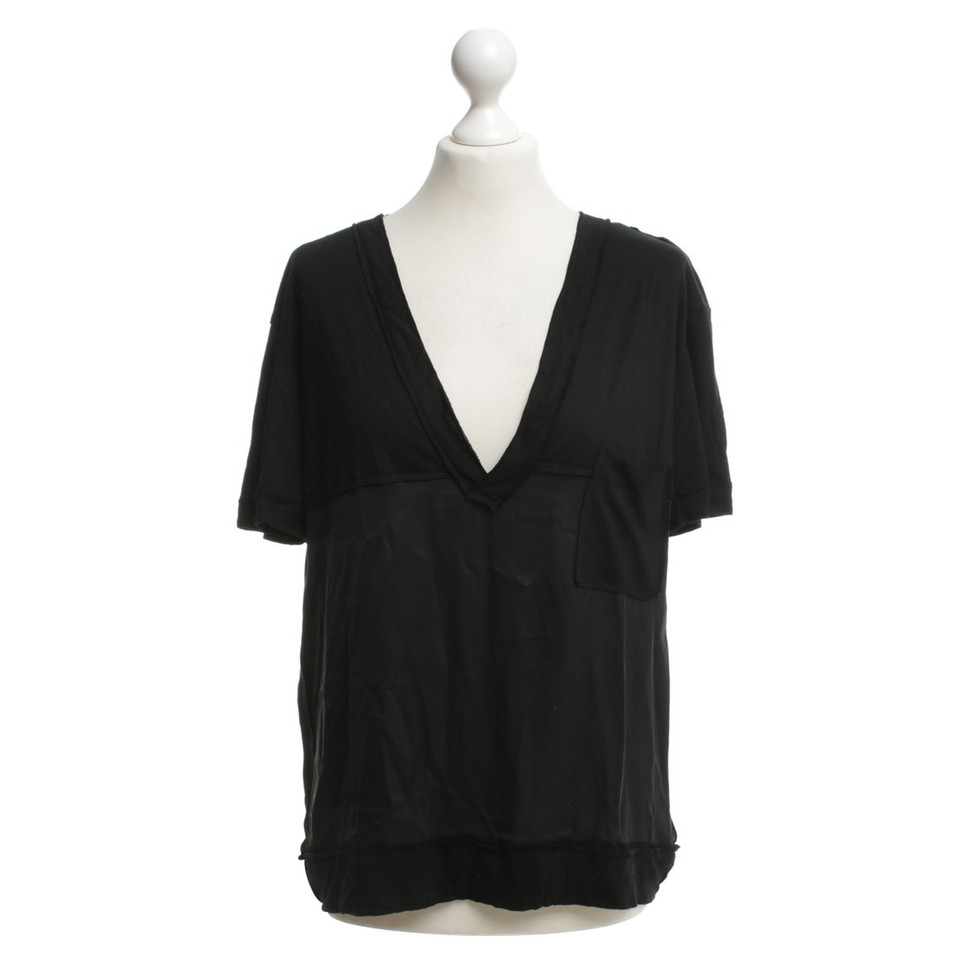 Bottega veneta t shirt aus material mix second hand for Bottega veneta t shirt