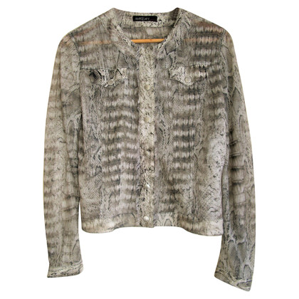 Marc Cain Jacket with leopard print