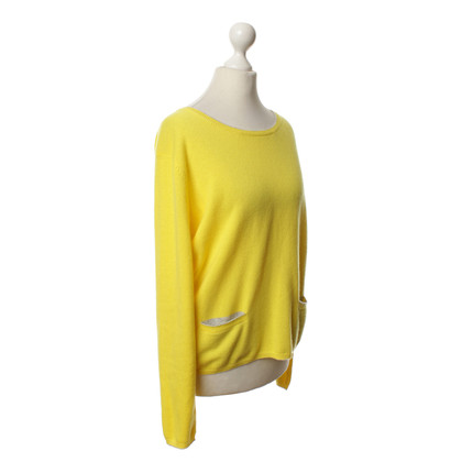 FTC Yellow knit pullover