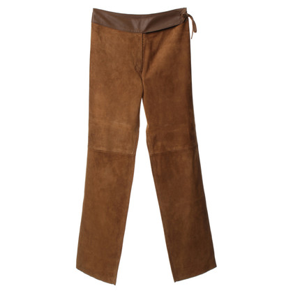Joseph Suede pants in Brown