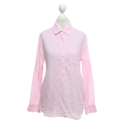 J. Crew Blouse in white / pink