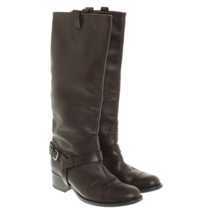 Ralph Lauren Boot in brown leather