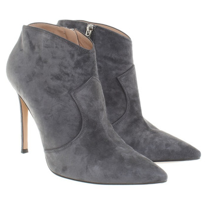 Gianvito Rossi Ankle Boots in Grey