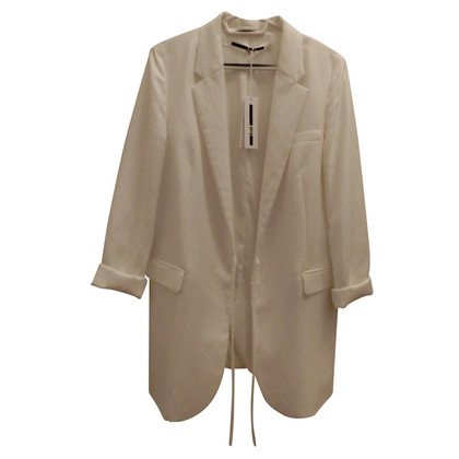 McQ Alexander McQueen Long Blazer in white