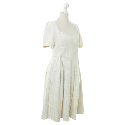 Marc by Marc Jacobs Kleid in Creme