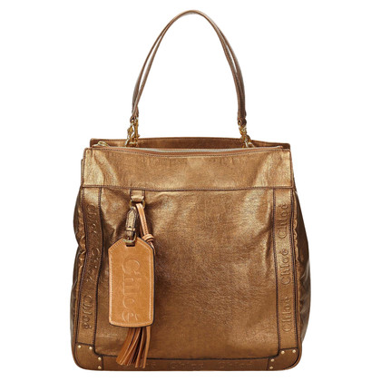 Chloé Eden Bag in Metallic