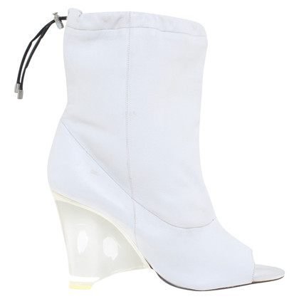 Barbara Bui Ankle boots in white