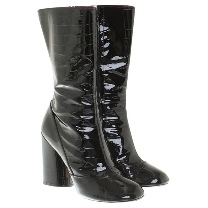 Marc Jacobs Boots with reptile embossing