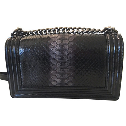 "Chanel ""Boy Bag"" Python Leather"