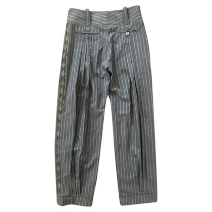 Christian Dior trousers with stripes