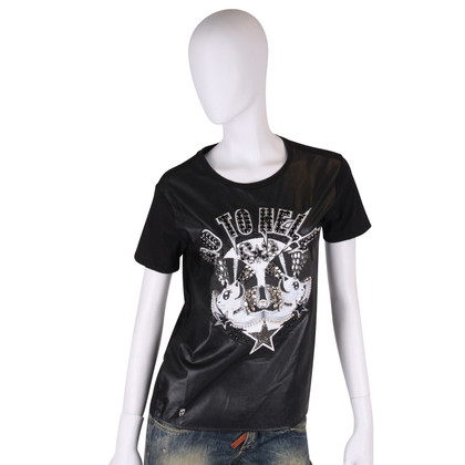 "Philipp Plein T-Shirt ""Go to hell"""