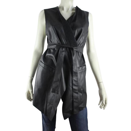 Pinko Vest in leather look