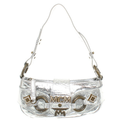 MCM bag color argento
