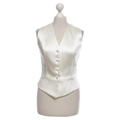 Barbara Schwarzer Vest in crème wit