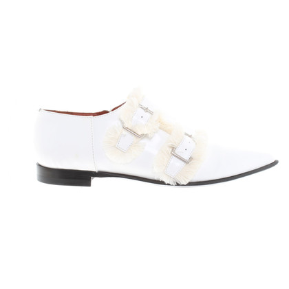 Acne Slipper in white