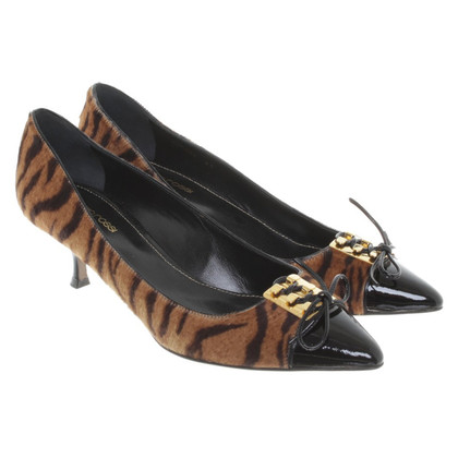 Sergio Rossi Pumps mit Muster