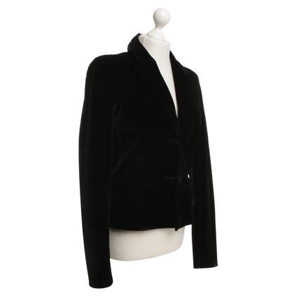 Yves Saint Laurent Black velvet blazer
