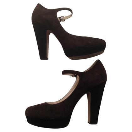 Prada suede schoenen