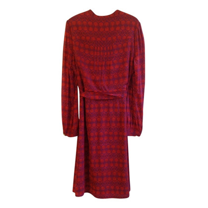 Tory Burch Silk dress in shades of Red