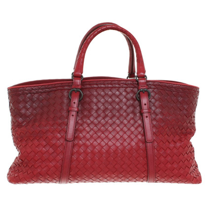 Bottega Veneta Handtas in rood