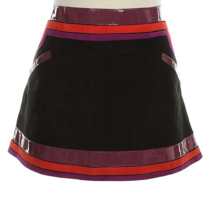 Gucci Suede skirt with pattern
