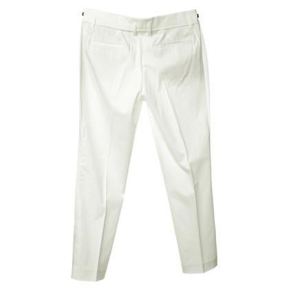René Lezard Pantalone in bianco