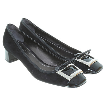 Car Shoe pumps in nero
