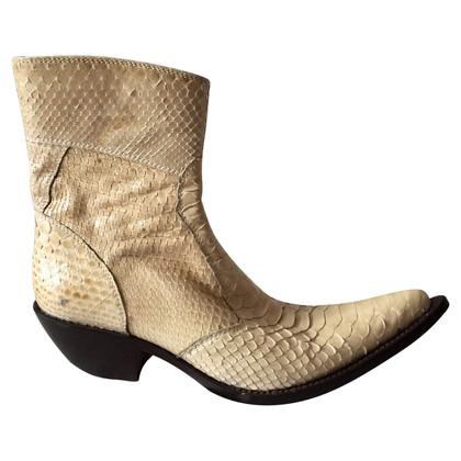 Gianni Barbato Snake boots