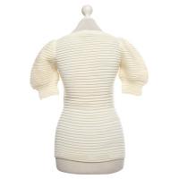 Red Valentino Korte mouwen trui in crème