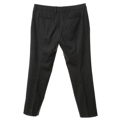 Prada Pantaloni di lana in grigio